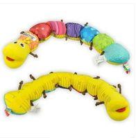 Wholesale lamaze musical inchworm musical plush toys Lamaze educational toys infant toy baby toy todder toy