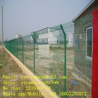 Wholesale 50 mm Wire Mesh Fence Grid For Factory Area PVC Coated Spraying Coated Powder Coated and PE Surface