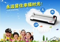 Wholesale A4 in Multifunction laminator a plastic machine with roller the cutter laminator