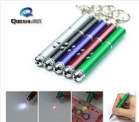 Wholesale in1 Multifunctional Pen laser Pointer writing Led Flashlight keychain Promotional gifts Ballpoint Pen