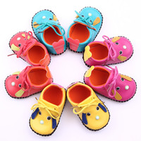Wholesale lovely puppy baby shoes PU toddler shoes M kids casual shoes children leather shoes cartoon walker shoes pairs