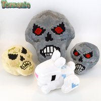 Wholesale My world Stuff Plush Toy Terraria Rabbit LARGE Small Skull huge Stuffed Plush Toys Dolls cm cm Game Cartoon gift for children British