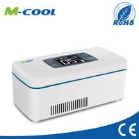 Wholesale M cool small refrigerator best mini fridge small fridges with car adapter M6