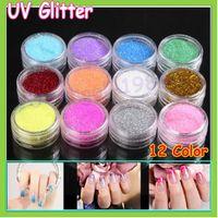 beauty dust - Color Mix UV Gel Glitter Dust Powder Nail Art Tip Decoration DIY Make Up Nail Beauty Decoration Freeship