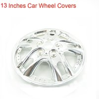auto tune settings - New Plating Styling Inches set Silver Modify Accessories Car Wheel Trims Hub Covers Caps Tuning Auto Decals Hot Sticker