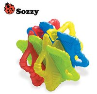 Wholesale 3M Sozzy Soothing Star Baby Teether Toy Dental Care Baby Care Mother Kids Blocks Baby Toy Mordedor Jouet De Dentition