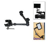 articulating camera mount - New quot Adjustable Magic Arm Super Clamp Mount Kit For Camera DSLR RIG Z96 LED Light friction articulating magic arm