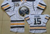 blue buffalo - Jack Eichel Buffalo Sabres Jerseys Jack Eichel Hockey White Blue Jersey Embroidery Stitched Authentic Ducks Jerseys