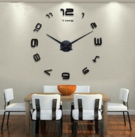 Wholesale Europe style originality big size DIY wall clocks