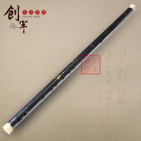 Others bamboo flute making - Dong Xuehua made a variety of paint lacquer bamboo flute timbre texture crisp and bright durable corrosion