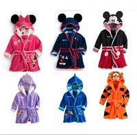 bathrobes boys - New children s bathrobe boy girl cartoon bathrobe robe