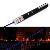 Wholesale 5miles nm Red Purple Laser Strong Pen Powerful M Black Pointer High Quality