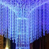 Wholesale 30 meters Garland Diamond Strand Acrylic Crystal Bead Curtain Wedding DIY Decoration LY399