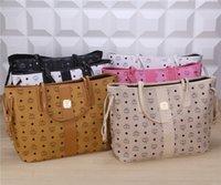 Wholesale Top Qaulity luxury designer handbags women shoulder bags Fashion Famous tote bag ladies PU leather bags Purse Wallet MCM Drop Shipping