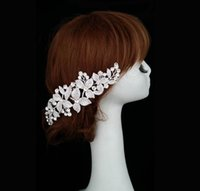 affordable hair accessories - Vintage inspired huge floral hair comb Art décor rhinestone hair comb Affordable bridal hair accessories Bridal accessories