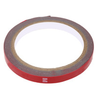 Wholesale 10mm M Length PET Material Automotive Double Faced Foam Coated Adhesive Double Strong Sided Tape order lt no track