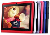 tablet android mid - 7 Inch Allwinner A33 DHL hot sale Quadcore Tablet PC GB Android HD Q88 Wifi MID A33 Tablets