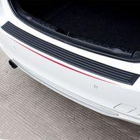 audi bumper protector - Car Styling Rear Bumper Protector Rear Door Sill For Benz Glk300 Glk350 For Audi A1 A3 A5 A6L A4L Q3 Q5 Q7 Silicon Pc order lt no track