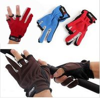 Wholesale New arrive Top Quality Outdoor Sports Anti Slip Fishing Gloves Slip resistant Fishing Gloves
