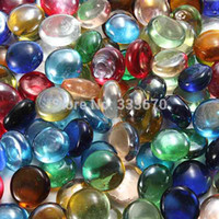 Wholesale Colorful New X mm Gorgeous Fish Tank Aquarium Decor Landscaping Glass Marbles Beads Balls