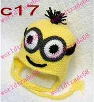 best beanie brand - Brand New Despicable Me Minion Beanie Hat Handmade Crochet Adult boy and Girl Yellow Best Xmas