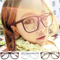 antique tortoise shell - Men Lady Hot Oversized Antique Tortoise Shell Nerd Geek Clear Lens Plain Glasses