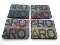 american seating - racing JDM bride recaro money clip Stitched Leather recaro Wallet Racing Wallet recaro Seat Fabric