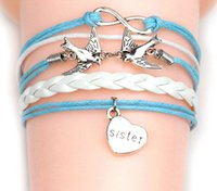 faith bracelet - 44 Designs Charm Bracelets cross Infinity Anchor owl Branch love bird believe faith courage Braided Leather bracelets