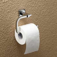 Wholesale 2015 new Toilet Paper Holders Wall Mounted Toilet Paper Holder Single Lever Roll Paper Holder