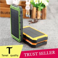 battery charger pad - Universal mAh Solar Charger Waterproof Solar Panel Battery Chargers for Smart Phone PAD Tablets Camera Mobile Power Bank Dual USB