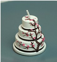 Wholesale Creative festival supplies would get married the wedding candles cherry blossom festival The candle The cherry blossom small candl