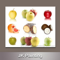 art gallery hanging - Quality Modern Art Fruits Painting on Canvas for Home Decor Wall Hanging China Cheap painting canvas Artwork Gallery