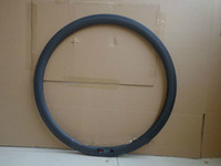 Wholesale C mm Road bike matt full carbon wheels clincher rim with basalt brake surface mm width