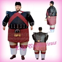 Wholesale Adult Chub Scottish Bagpipe Inflatable Clothing Blow Up Color Full Body Christmas Halloween Cosplay Costume Jumpsuit Fat Suit