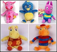 backyardigans animals - 23cm inch The Backyardigans plush toy Austin Pablo Uniqua Tasha Tyrone baby stuffed soft dolls children toys gift jng7i