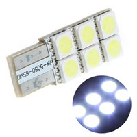 Wholesale Hot Sale T10 W5W LEDs SMD Bright White LED Car Side Wedge Light Vehicle Tail Lamp Parking Bulb DC12V