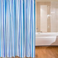 Wholesale Brand New Bathroom Curtain Luxury Stripe Mould Resistant Waterproof Bath Shower Curtain x180cm