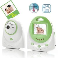Wholesale New Ghz LCD Screen Wireless CMOS Camera Voice Control Baby Monitor With Lens hot search
