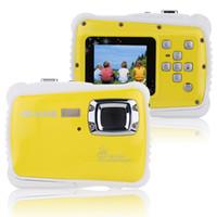 Wholesale Portable Handy P CMOS Sensor Digital Camera Mini Camcorder fps HD MP Waterproof M quot LCD Screen for Children Child Kids order lt no