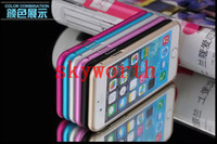 Wholesale Luxury Aluminum Alloy Metal Bumper Frame Protective Case Cover for iphone inch