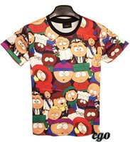 avatar cartoon characters - new summer South Park cartoon man cartoon character avatar men T shirt