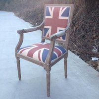 Wholesale British classical carved wood chairs chair custom factory direct fashion armchairs