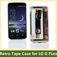Cheap LG G Flex D958 gel case Best LG G Flex D958 retro case