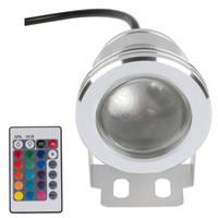 Wholesale Led Underwater Light RGB W V Led Underwater Light Colors LM Waterproof IP68 Fountain Pool Lamp Lighting
