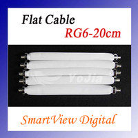 Wholesale Flat Coaxial Cable RG6 RG DOOR RV WINDOW Length cm Post D0041