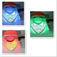 Wholesale DHL Free LED red blue green light therapy beauty Mask PDT Mask LED skin rejuvenation skin Mask