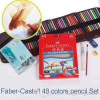 Wholesale Faber Castell Color Secret Garden Coloring Water soluble Colored Pencil Set School Supplies For Children Adlut Relax A5