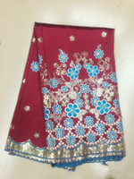 african clothing - Hot African George Lace Fabric African Clothing With Of Sequins GLZ23 yards