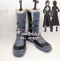 art bullets - Anime Sword Art Online SAO cosplay costume GGO Phantom Bullet cosplay boots shoes
