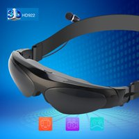 Wholesale ccessories Parts Video Glasses New Arrival Inch D Virtual Reality Wide Screen Digital Video Glasses Eyewear Support Co